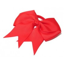 Large Grosgrain Bow Red