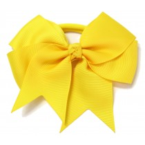 Large Grosgrain Bow Yellow