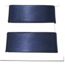 Satin Ribbon 2m Navy Blue