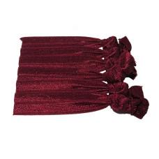 Knot Tie Maroon
