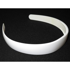 School Hair Band 2.5 White
