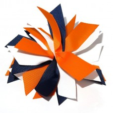 Fire Cracker Navy Orange White