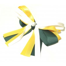 Layered Cheer Bow Aussie