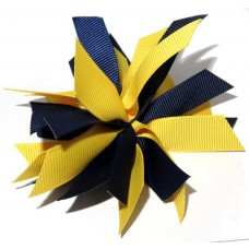 Fire Cracker Navy Yellow