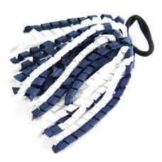 Korker Tie Navy White