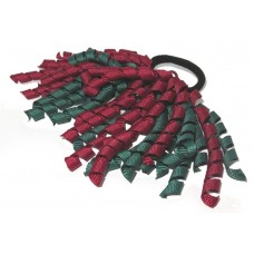 Korker Tie Green Maroon
