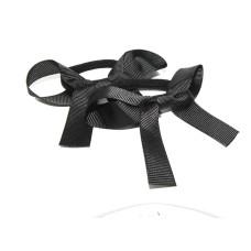 Pony Bows Black