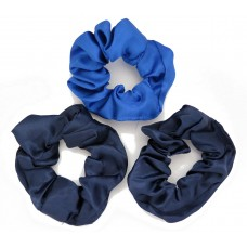 Scrunchie 3 Pack Navy Royal