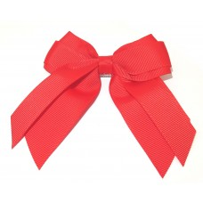 Mini Cheer Bow Red