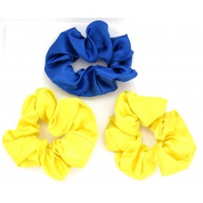Scrunchie 3 Pack Royal Yellow