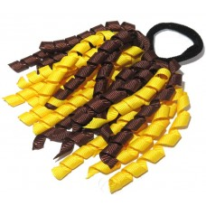Korker Tie Yellow Brown