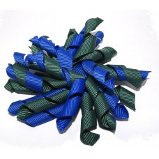 New Korker Clip Royal Blue Green