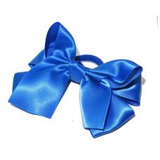 Large Satin Bow Tie Royal Blue