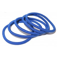 Thin Hair Tie Pack Royal Blue