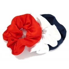 Scrunchie 3 Pack Navy Red White