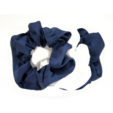 Scrunchie 3 Pack Navy White