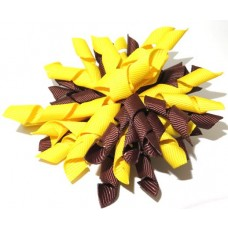 Korker Clip Yellow Brown