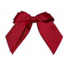 Mini Cheer Bow Maroon