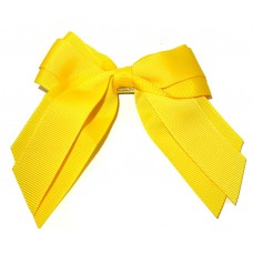 Mini Cheer Bow Yellow