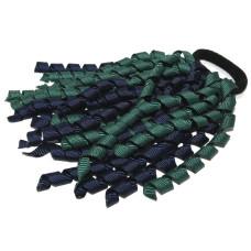Korker Tie Navy Green