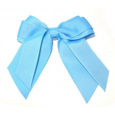 Mini Cheer Bow Sky Blue