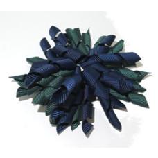 Korker Clip Navy Green