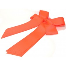 Cheer Bow Neon Orange