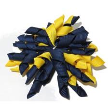 Korker Clip Navy Yellow