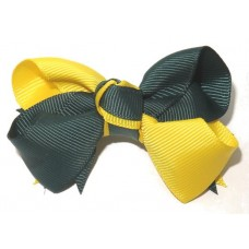 Spiky Clip Green Yellow