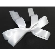 Sports Bow Tie White