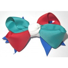 Spiky Bow Red RB Mallard WH