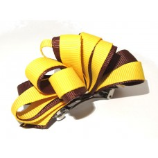 Korker Loopy Clip Brown Yellow