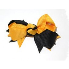 Spiky Clip Gold Black