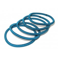 Thin Hair Tie Teal