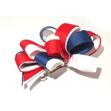 Korker Loopy Clip Navy Red White