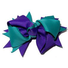 Spiky Clip Purple Mallard