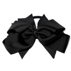 XL Grosgrain Bow Tie Black