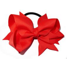 XL Grosgrain Bow Tie Red