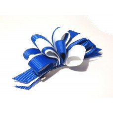 Korker Loopy Clip Royal Blue White
