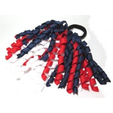 Korker Tie Navy Red White