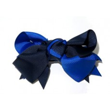Spiky Clip Navy Royal