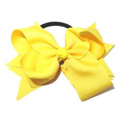 XL Grosgrain Bow Tie Yellow