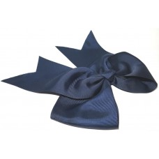 XL Cheer Bow Navy Blue