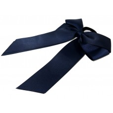 Cheer Bow Navy Blue