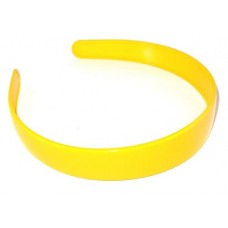 School Hair Band 2.5 Yellow