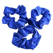 Scrunchie 3 Pack Royal Blue