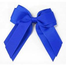 Mini Cheer Bow Royal Blue
