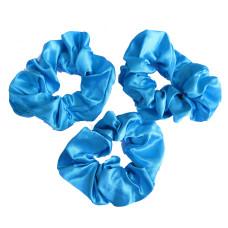 Scrunchie 3 Pack Sky Blue