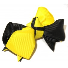 Spiky Clip Yellow Black